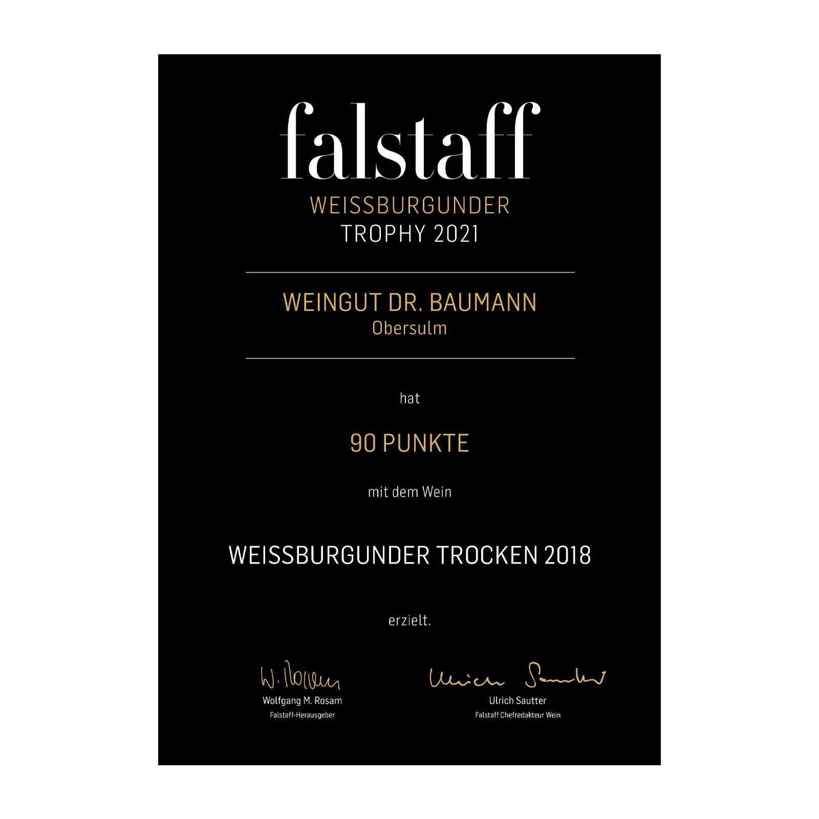 Fallstaf_Urkunde_Weissburgunder